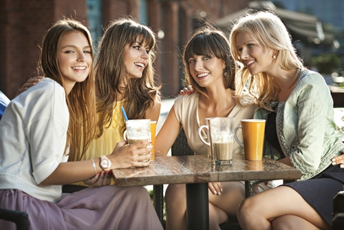 Make time to reconnect with your gal pals.