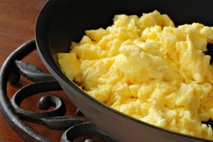 Organic eggs may contain less antibiotics.